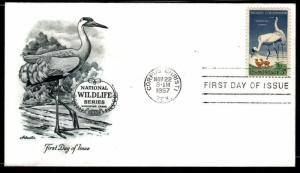 #1098 Wildlife Conservation  FDC  (Artmaster)