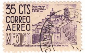 Mexico, Scott # C191, Used