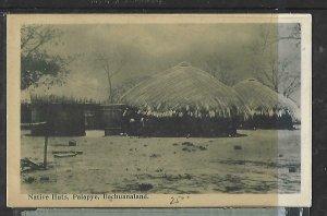 BECHUANALAND   (PP0609B)   PPC NATIVE HUTS PALAPYE