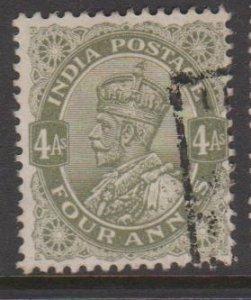 India Sc#116 Used