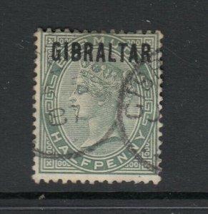 Gibraltar, Sc 1 (SG 1), used