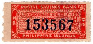 (I.B) Philippines Revenue : Postal Savings Bank 2p