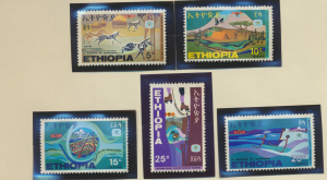 Ethiopia Stamps Scott #536 To 540, Used Hinged - Free U.S. Shipping, Free Wor...