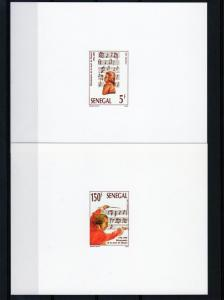 Senegal 1991 W.A.Mozart Bicent 4 DELUXE SS MNH Sc # 967/970