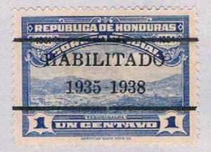 Honduras O98 MLH Overprint 1936 (BP3068)