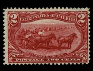 Scott #286 F/VF-OG-NH. SCV - $72.50