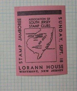 Lansings Stamp Club MI 1941 Annual Expo Event Souvenir Ad