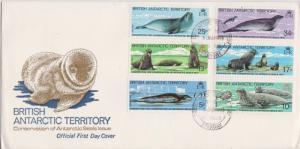 British Antarctic Territory Scott 96-101 Unaddressed.