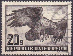 Austria #C60   F-VF Used  CV $8.50 (Z3005)