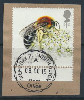 Great Britain SG 3738 Used  Honey Bees    SC# 3419