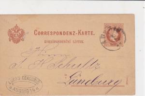 austria 1880  stamps card ref 20949