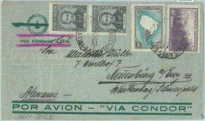 85965 - ARGENTINA - POSTAL HISTORY -  COVER to GERMANY - CONDOR LATI   1940