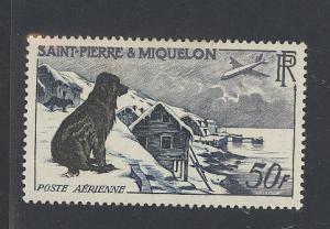 St. Pierre & Miquelon C21 Mint VF HR