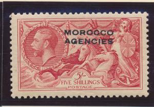Great Britain, Offices Morocco Stamp Scott #243 Mint Light Hinge Good Centeri...