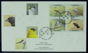 Canada FDC Birds 1770-3 4 Stamps 1999