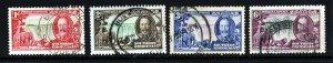 SOUTHERN RHODESIA King George V 1935 Silver Jubilee Set SG 31 to SG 34 VFU