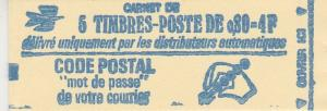 France #1294c Complete Booklet  CV $9.00 (K66)