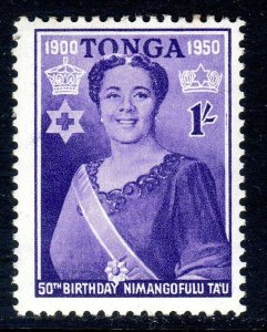 TONGA --  1950 -- SG 94  -   1/-   value     MM