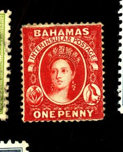 Bahamas #12 MINT FVF OG HR Minor Gum Dist Cat$90