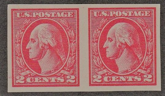 1920 US Stamp Pair Scott #532 MNH XF Gems SVC $120