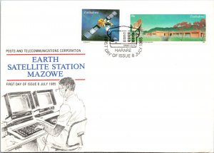 Zimbabwe, Worldwide First Day Cover, Space