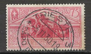 COLLECTION LOT # 5409 ITALY #253 1930 CV+$12