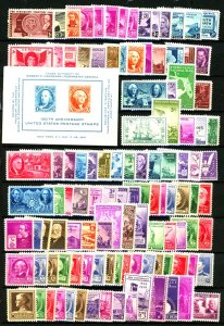 U.S. #MINT/MIXED CONDITION MOSTLY NH
