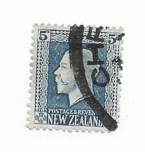 New Zealand #153 Used - Stamp - CAT VALUE $1.10