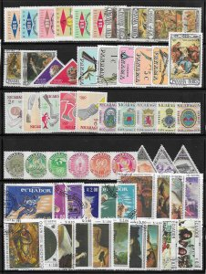 Panama mini collection 120 diff. mixed stamps at 5¢ a stamp SCV $? - 12999