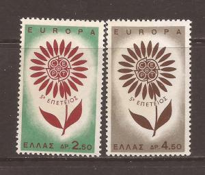 Greece scott #801-02 m/nh stock #T1723