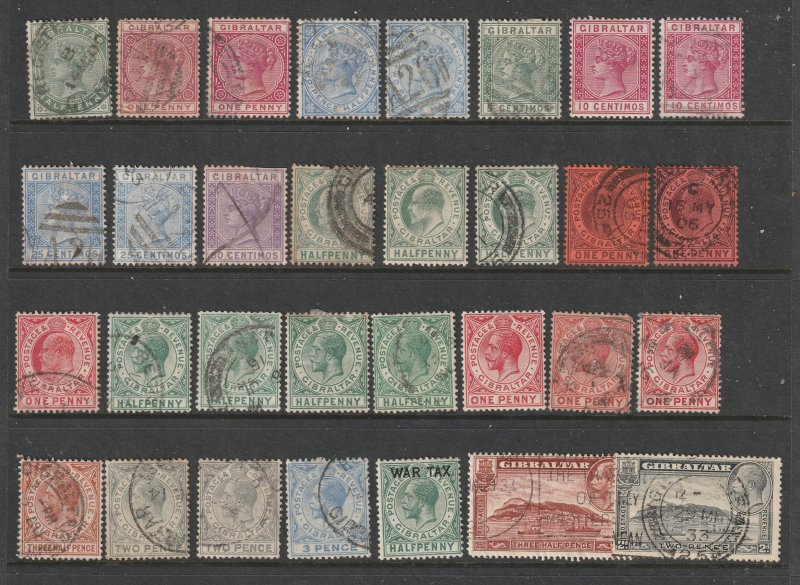 Gibralter a small used lot QV to KGV