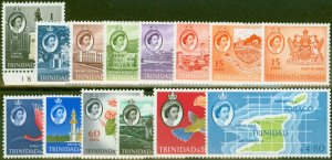 Trinidad & Tobago 1960-64 set of 14 SG284-297 Ex-2c V.F Very Lightly Mtd Mint