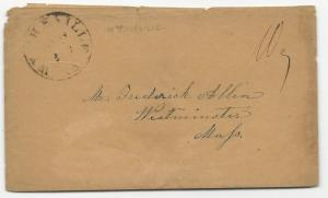 VA US STAMPLESS COVER Wytheville