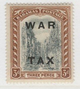 British Colony Bahamas War Tax 1919 Wmk Mult Crown CA 3d MH* Stamp A22P15F8692