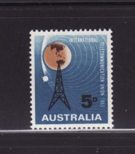 Australia 388 Set MHR ITU, Radio Mast and Satellite (A)