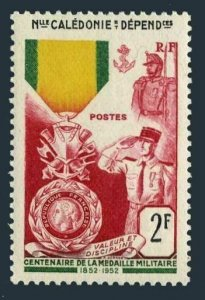 New Caledonia 295,MNH.Michel 350. French Military Medal,centenary,1952.