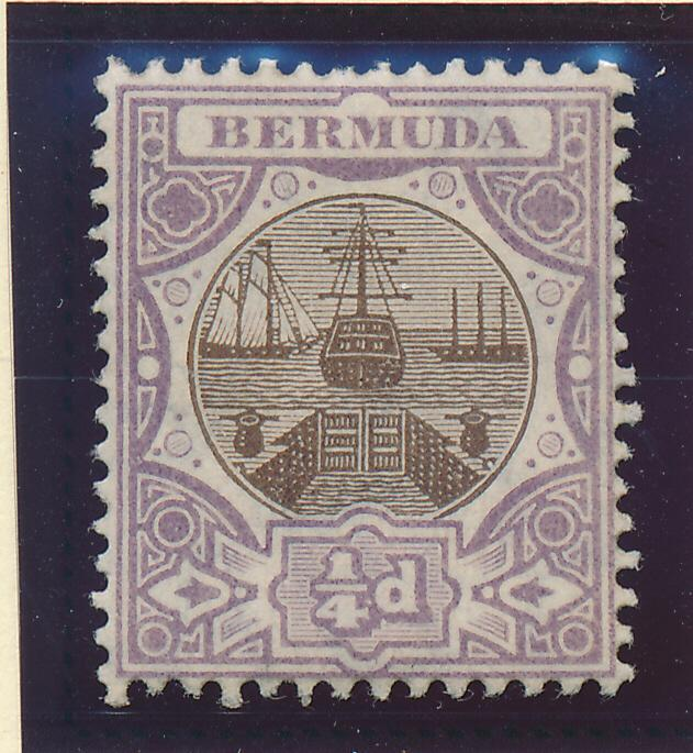 Bermuda Stamp Scott #31, Mint Hinged