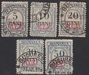 Romania 3NJ3-3NJ7 Used CV $29.25