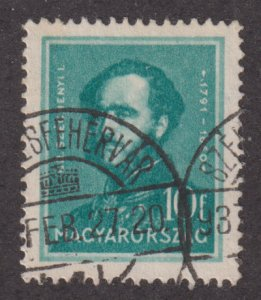 Hungary 472 Count Stephon Szecheny 1932