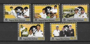 Papua New Guinea MNH 1277-81 St. Johns Ambulance 2007