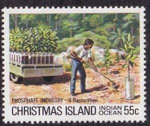Christmas Island #102 Mint