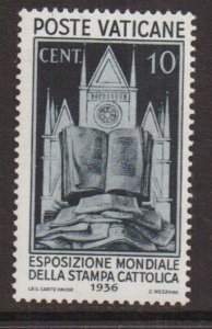 Vatican City   #48   MNH  1936  allegory.  world exposition. 10c