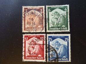 Germany 1935   Sc.#446 - 451  CV $10.85