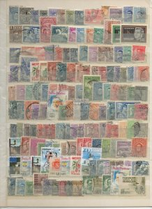 URUGUAY 1940 - 1964 STAMP SELECTION SINGLES & SHORT SETS 170 STAMPS F