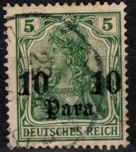 Germany Offices In  Turkey #43 F-VF  Used  (S10737)