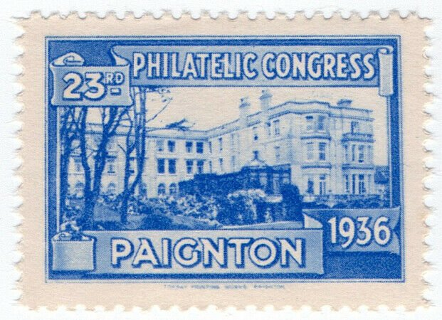 (I.B) Cinderella : 23rd Philatelic Congress (Paignton 1936) Grand Hotel