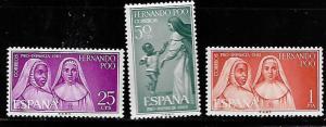 FERNANDO PO 204-206 MNH C/SET 1963 ISSUE