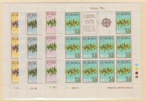 Malta Scott #450-453 Stamp - Mint NH Souvenir Sheet