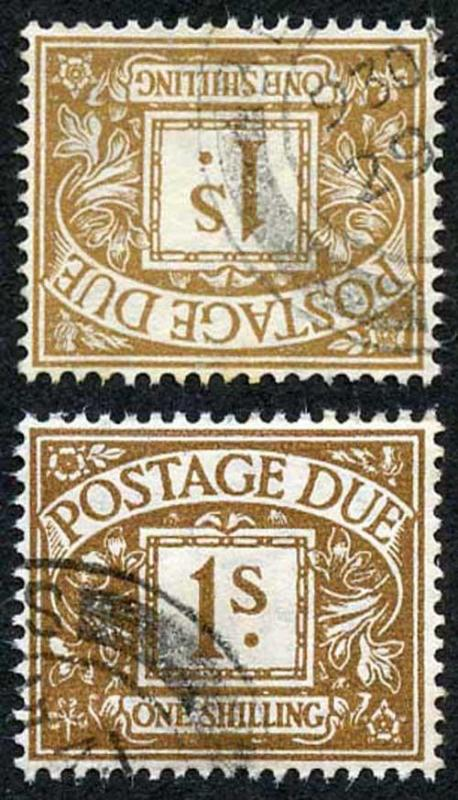 SGD39Wi KGVI 1/- Wmk SIDE-WAYS INVERTED VERY RARE Cat 2800 (as mint)