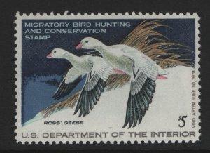 US, RW44, 1977, MNH, DUCK STAMP
